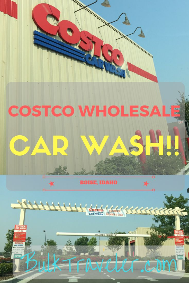 Did you know that there are actually 10 Costco locations that have a car wash! BulkTraveler tracked down one of those locations.