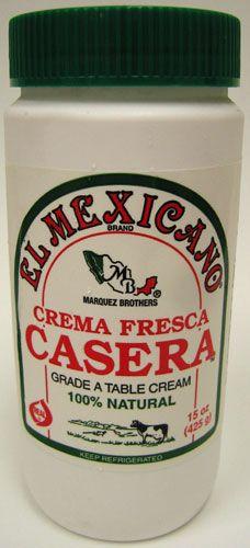 Crema Casera Fresca El Mexicano (Pack of 3) $22.95
