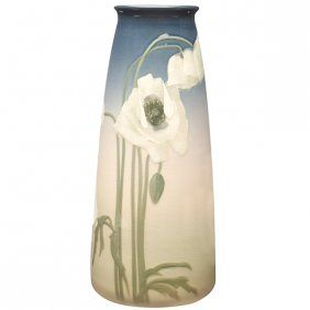 Lenore Asbury (1866-1933) for Rookwood Pottery, Poppies