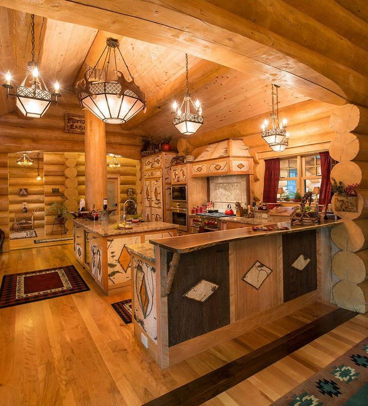 Log Cabin Kitchen Decor: 1000+ Ideas About Log Home Decorating On Pinterest
