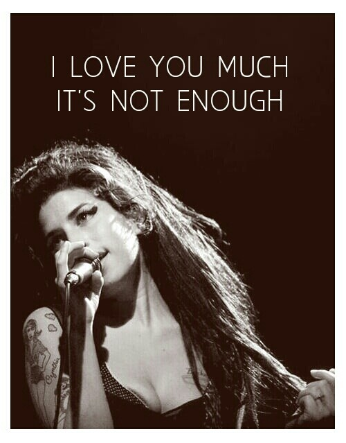 """""""You love blow & I love puff..."""" Lyric from Back to Black, by Amy Winehouse"""