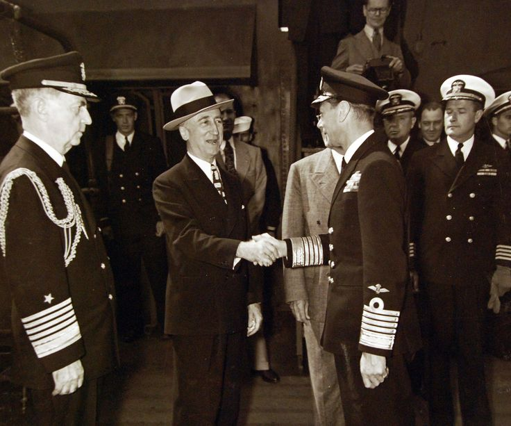 32 best uss augusta wwii images on pinterest world war two wwii 80 g 700231 king george vi aboard uss augusta ca 31 for a return visit to president harry s truman while the ship is in plymouth harbor england fandeluxe Choice Image
