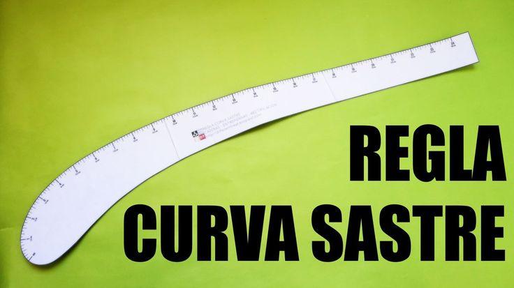 REGLA CURVA que se usa en sastreria.                                                Regla curva sastre para descargar