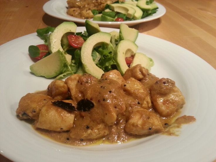 Homemade curry, Keralan Coconut Chicken style, Yummy!
