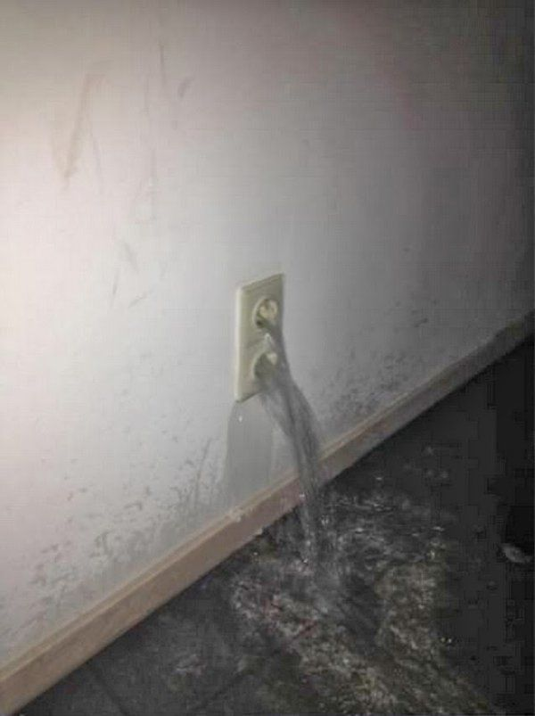 Ruft man da den Elektriker oder den Klempner? | am Besten einen Exorzisten! Webfail - Fail Bilder und Fail Videos