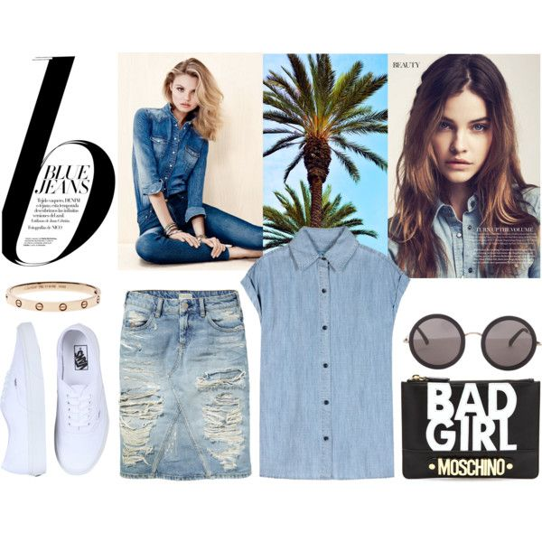 """blue#jeans"" by lelouka on Polyvore"