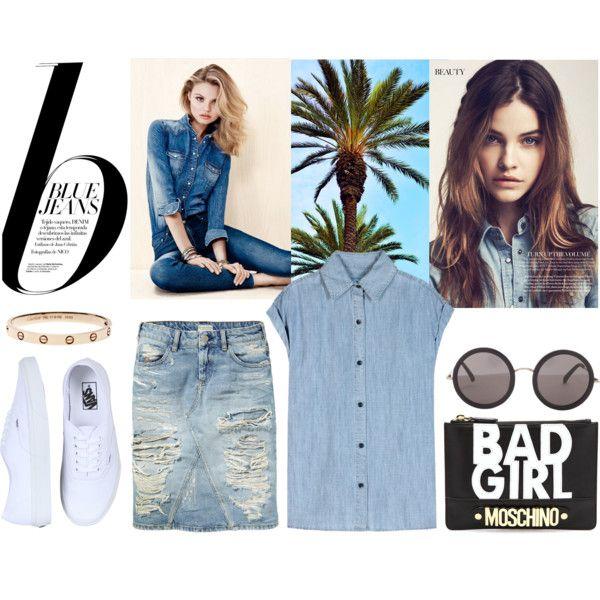 """""""blue#jeans"""" by lelouka on Polyvore"""