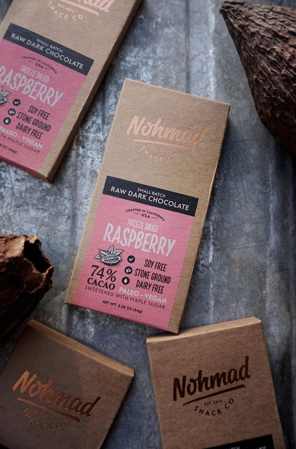 Nohmad Snack Co. ( CA. ) CHOCOLATE www.lancah.com