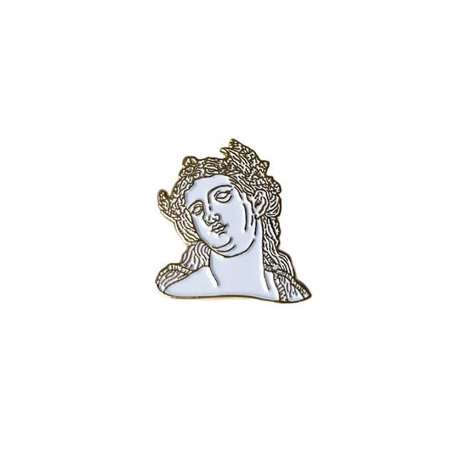 """""""Old"""" Lady pin from @theatre.of.the.absurd Get something historic for your…"""