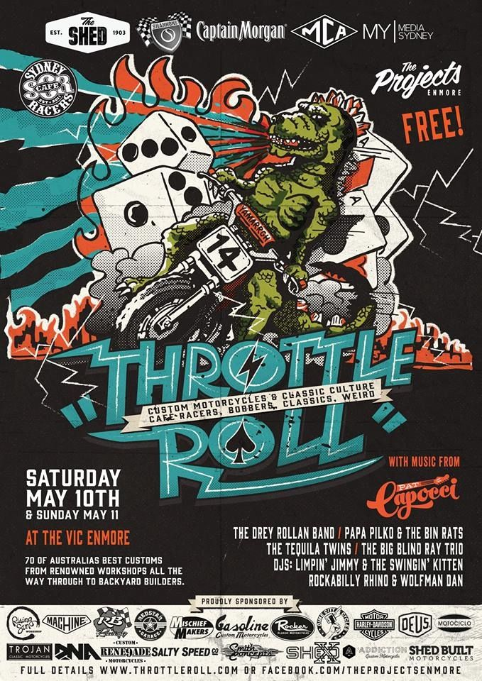Throttle Roll 2014