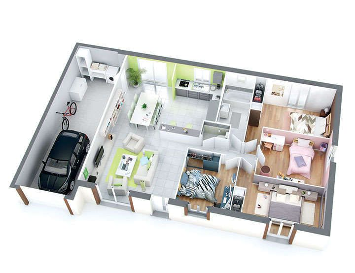 maison petit budget isa top duo 1 maison Pinterest Budgeting - plan maison logiciel gratuit