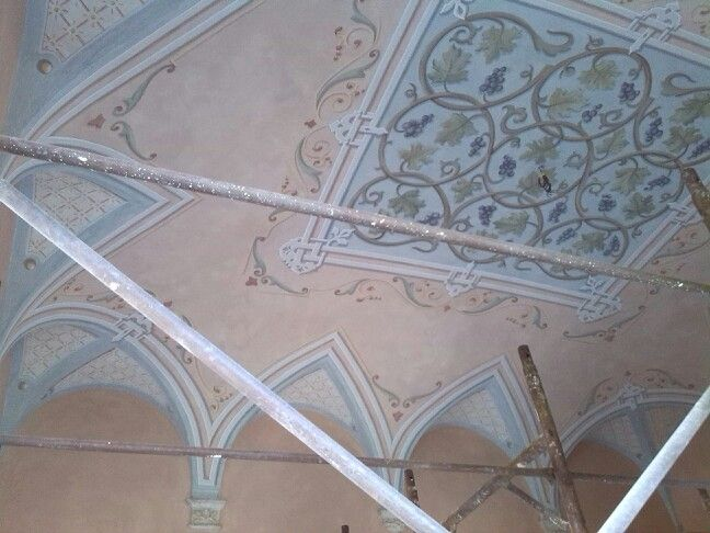 10+ images about Ghirigori, decorazioni, trompe l'oeil on Pinterest  Painted ceilings, Painted ...
