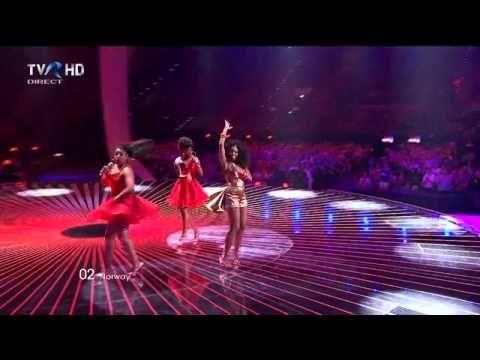 HD Eurovision 2011 Norway: Stella Mwangi - Haba Haba (Semi-Final 1)