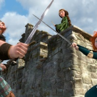 Movie Review: BRAVE Makes MacQuarrie's List of Top 5 Pixar Movies - information on the how scary the film is, how it portrays men, and women