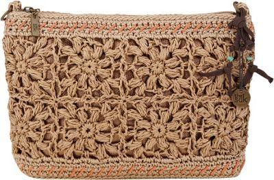 The Sak Classic Mini 3-In-1 Clutch Handbag Natural Flower - via eBags.com!