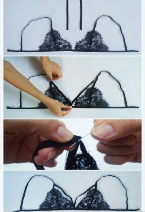 Cómo hacer y personalizar tu propio bralette