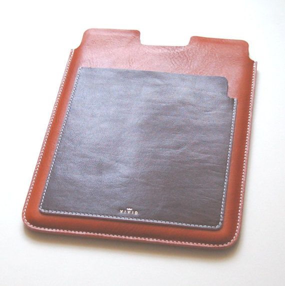 iPad Leather Case iPad Air iPad Air 2 Italian by VIVIDleathergoods