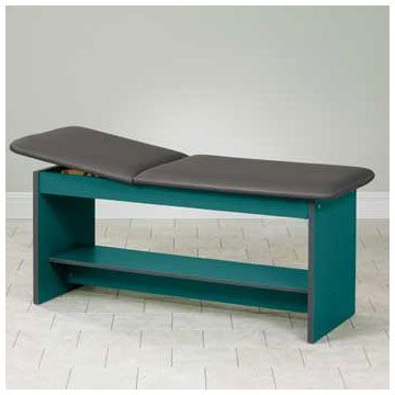 Clinton Industries Select Series Straight Line Pediatric Treatment Table  Has Easy To Clean Laminate Surfaces That