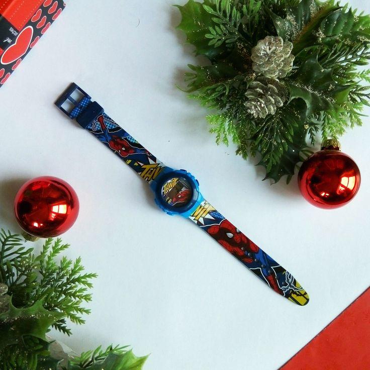 Original DISNEY watch for boys - SPIDERMAN wristwatch for Christmas #watch #disney Oryginalny zegarek Disneya dla dzieci - Zegarek z Spidermanem idealnym prezentem na święta!