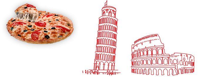 Originální italská pizza