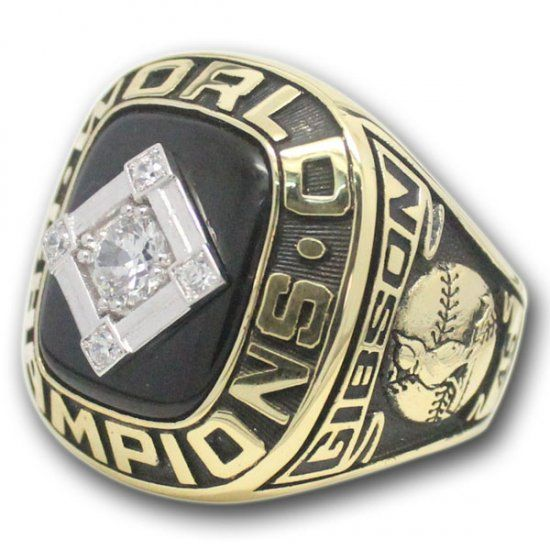 1967 Bob Gibson St. Louis Cardinals World Series championship ring