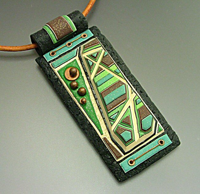 by Jana Roberts BenzonPolyclaybluegreen Beauty2, Polymerclay, Clay Polymer, Clay Inspiration, Jrb Art, Jana Robert, Polymer Clay, Clay Art, Robert Benzon