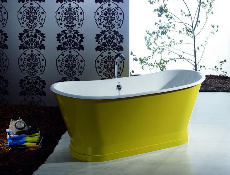 #Vasca da #bagno freestanding in ghisa colorata dal design moderno Betty. By Viadurini Collezione Bagno. [www.viadurini.it]