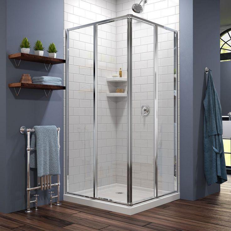 corner shower enclosure images see more dreamline cornerview in x in - Corner Shower Stalls