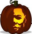 Michael Myers pumpkin pattern - Halloween - Pumpkin Carving Patterns and Stencils - Zombie Pumpkins!