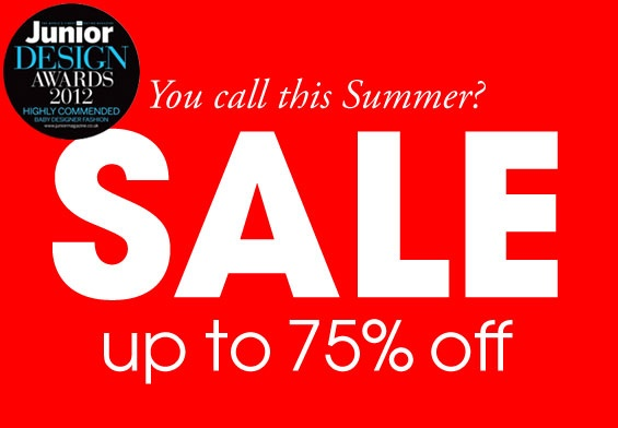 SALE ALERT! The Oh Baby London Summer Sale is now on with up to 75% off in-store and online! Don't miss out!London Summer, Baby London, Summer Sales, Sales Alert