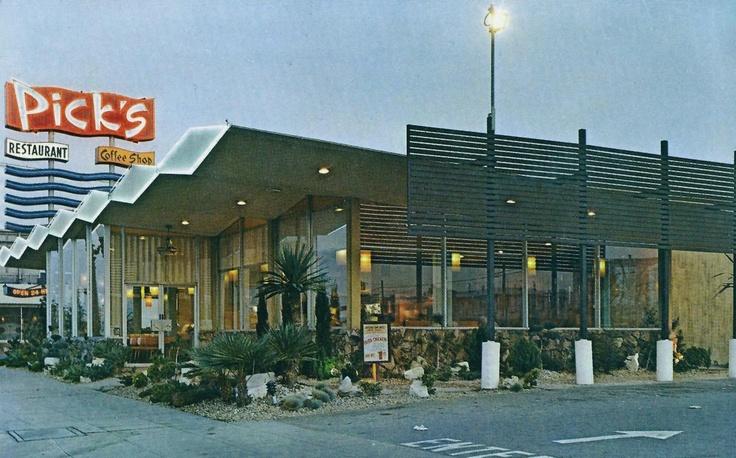 Pick's Restaurant, 11925 Santa Monica Boulevard (ca. 1975