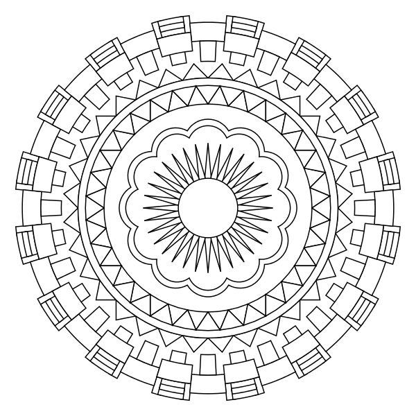 47 best Mandala Prints images on Pinterest Free printable