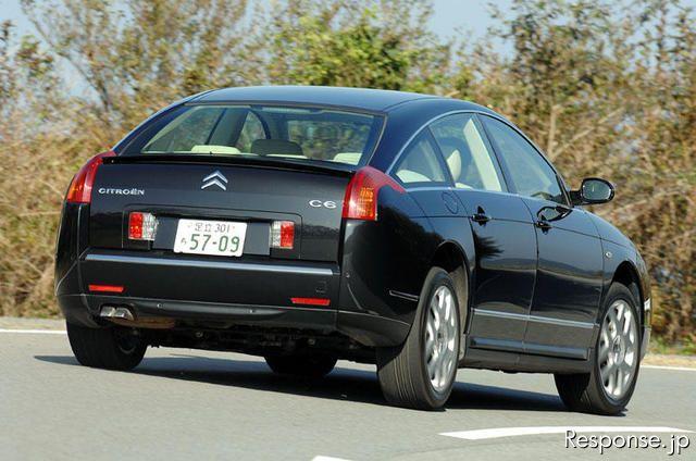 【インプレ'06】下野康史 シトロエン『C6』 拍手喝采のスタイリング | goo 自動車&バイク