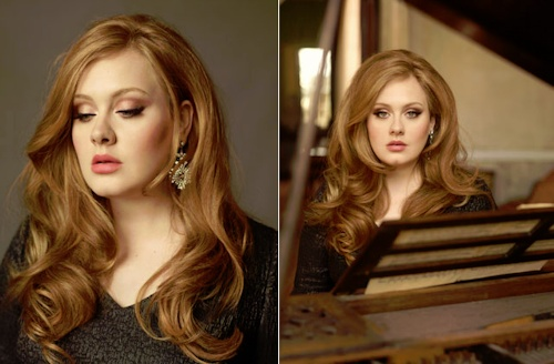 Adele//her makeup is always flawless! i need some bronzer or something for cheek contour
