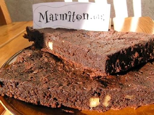 Gateau au fondant au chocolat marmiton