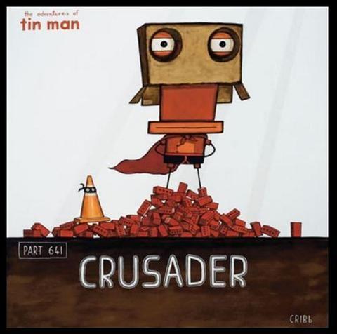 """""""Crusader"""" (Boxed Frame) by Tony Cribb"""
