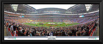 FA Cup Final 2015 Arsenal v Aston Villa Official Framed Photographs