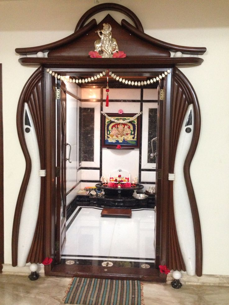 South Indian pooja room