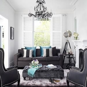 1000 ideas about dark gray sofa on pinterest grey sofas for Home goods loveseat