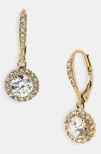 Nadri Boxed Cubic Zirconia Drop Earrings available at #Nordstrom