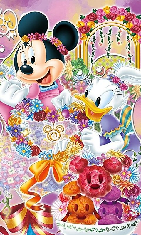#Disney ♡ Minnie Mouse and Daisy Duck