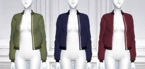 Nonaaa Sims — simxnation: ACC BOMBER JACKET RECOLORS 24...
