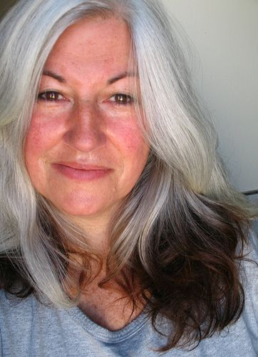 Beautiful natural grey hair seize the gray pinterest for Gorgeous in gray
