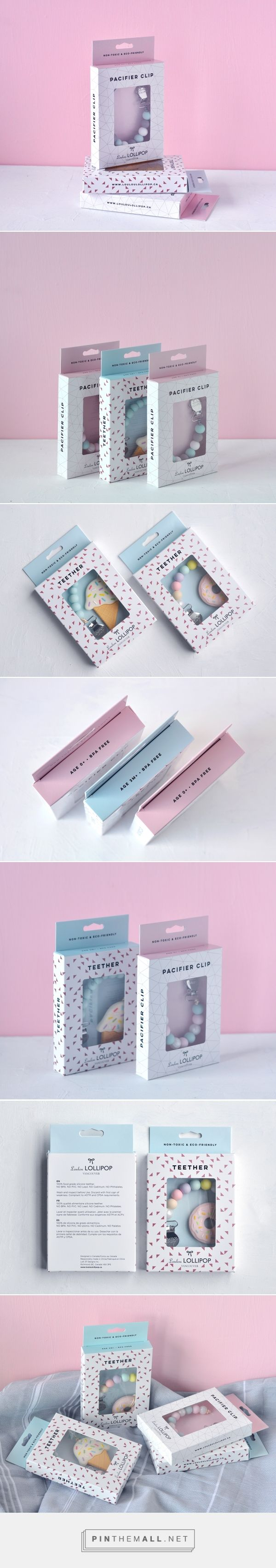 Loulou Lollipop Baby Product Packaging by Nicole Phillips | Fivestar Branding Agency – Design and Branding Agency & Curated Inspiration Gallery