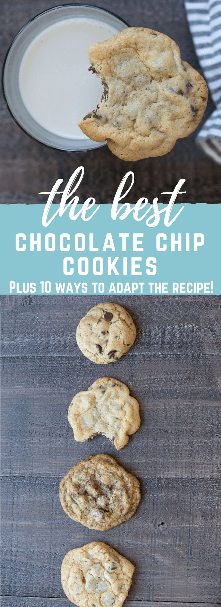 Really, it doesn't get much better than a warm buttery chocolate chip cookie... crispy on the outside and slightly soft in the middle. Get the Best Homemade Chocolate Chip Cookies recipe in your life.