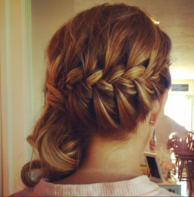 1000+ ideas about Side Braid With Curls on Pinterest ...