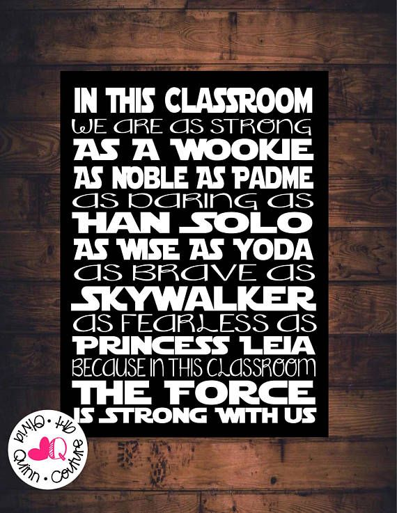Personalized STAR WARS wooden sign Princess Leia..In this house we are as strong