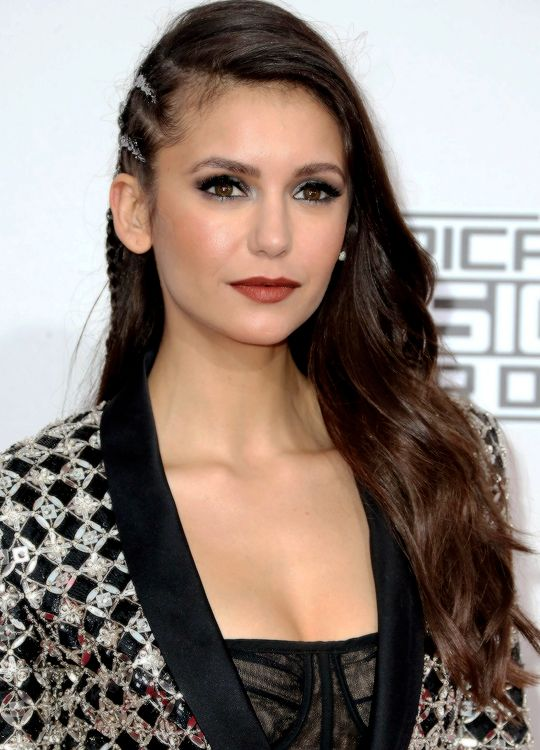 Nina Dobrev attends the 2016 American Music Awards at Microsoft Theater on November 20, 2016 in Los Angeles, California.