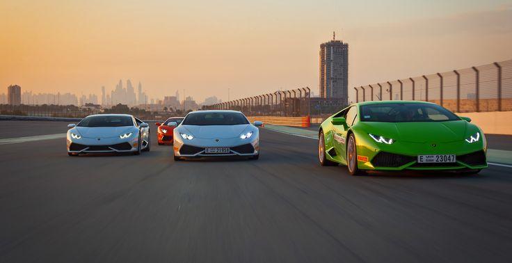 Lamborghini hold first Middle East Accademia in Dubai