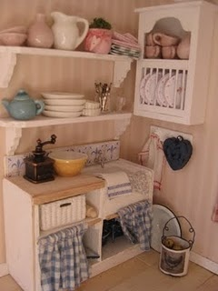 I'll have the shelves in my kitchen instead of cabinets above the counter tops.